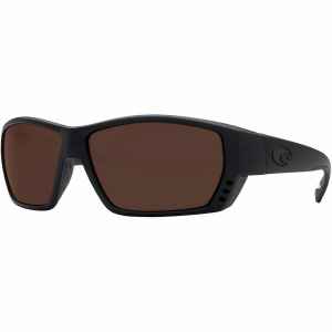 Costa Tuna Alley Blackout Polarized Sunglasses Costa 580 Polycarbonate Lens