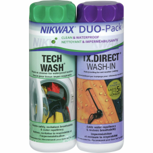 Nikwax Tech Wash and TX Direct Wash In Duo Pack 300mL