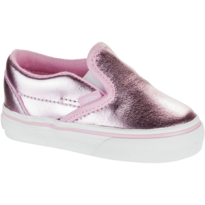 Vans Classic Slip On Skate Shoe Toddler Girls'