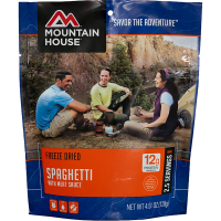 photo: Mountain House Spaghetti with Meat Sauce