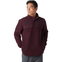 Stoic Stoic Quilted 1/4 Button Pullover - Men's