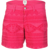Dylan Embroidered 5 Pocket Short - Women's