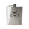 Wetfly Single Wall Stainless Hip Flask - 7oz
