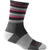 Darn Tough Merino Wool Stripes Cushion Micro Crew Socks - Women's