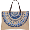 The Beach People Majorelle Jute Bag