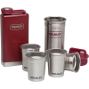 Stanley Adventure SS Shots Plus Flask Gift Set - 4 Set