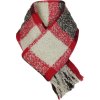 Woolrich Boucle Plaid Wrap Scarf
