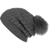 White + Warren Cozy Pom Pom Beanie