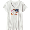 Patagonia Kitted Cotton V-Neck T-Shirt - Women's