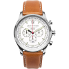 Jack Mason N102 Nautical Collection SS Leather Watch