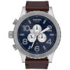 Nixon 51-30 Chrono Leather Watch