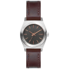 Nixon Small Time Teller Leather Watch - Women's