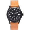 Jack Mason A101 Aviation Collection PVD Leather Watch
