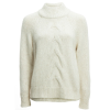 White + Warren Center Cable Standneck Sweater - Women's