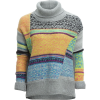 Free People This & That Stripe Sweater - Women's