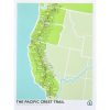 We are Brainstorm The Pacific Crest Trail Screenprint