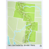 Brainstorm The Continental Divide Trail Screenprint