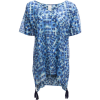 Seafolly Indigo Print Kaftan Cover-Up - Women's