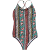 Billabong Hippy Ditsy One-Piece Swimsuit - Girls'