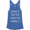Parks Project Leave It Better Slim Racerback Tank Top - Women's