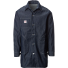 Pointer Brand Indigo Blue Denim Pocket Long Jacket - Men's