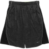 RPX Poly Spacedye Knit with Side Mesh Inserts Drawstring Waist Short - Men's