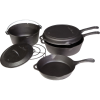Camp Chef 6-Piece Cast Iron Set