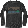Hippy Tree Boundary Long-Sleeve T-Shirt - Men's
