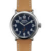 Shinola Runwell 47mm Leather Watch