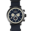 Shinola Runwell 47mm Leather Nato Strap Watch