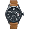 Jack Mason A301 Aviation Collection PVD Leather Watch