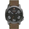 Nixon Ranger 45 Leather Watch - Men's