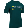 Under Armour Wordmark Lock Up Short-Sleeve T-Shirt - Men's