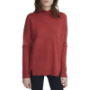 White + Warren Circular Hem Standneck Sweater - Women's