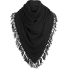 White + Warren Tassel Triangle Scarf - Women's