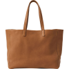 BAGGU Oversize Leather Tote