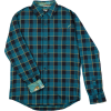 Pladra Elli Steel Blue Flannel Shirt - Men's