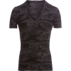 Monrow Camo Relaxed V-Neck Shirt - Women's