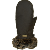 Barbour Wax With Fur Trim Mitten - Women's
