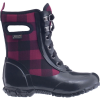 Bogs Sidney Lace Buffalo Plaid Boot - Girls'