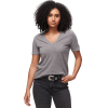 Monrow Granite Oversized V-Neck Shirt - Women's