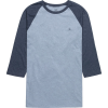 Volcom Solid Heather Raglan T-Shirt - 3/4-Sleeve - Men's