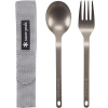 Snow Peak Titanium Fork and Spoon Set