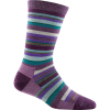 Darn Tough Sassy Stripe Light Crew Sock - Women's