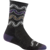 Darn Tough Wandering Stripe Micro Crew Light Cushion Socks - Women's
