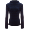 White + Warren Bold Rib Funnelneck Sweater - Women's