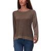 Monrow Sweatshirt with Lace Up Back - Women's