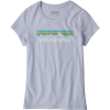 Patagonia Pastel P-6 Logo T-Shirt - Girls'