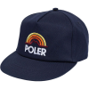 Poler Mountain Rainbow Snapback Hat - Men's