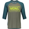 Mons Royale Redwood 3/4 Raglan T-Shirt - Men's